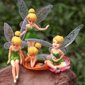 Flower Fairy Micro Landscape Craft Garden Ornament Fairy Dollhouse Decor DIY New
