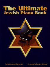 The Ultimate Jewish Piano Book Sheet Music Tara Books NEW 000330728