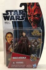 """Star Wars PADME QUEEN AMIDALA 3.75"""" Action Figure MH17 Movie Heroes 2012 new"""