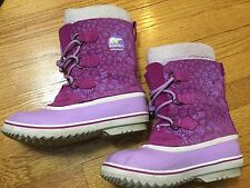 Youth Sorel Yoot Pac TP Winter Waterproof Snow Boot (Girls') Size 5 Rated -40 F