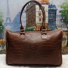 Longchamp Croco Leather Shoulder Tote - $560