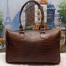 Longchamp Croco Leather Shoulder Tote - $560
