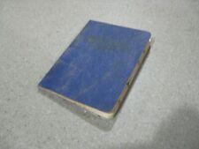 Antique Shaver's Masonic Monitor 1893 Grand Lodge 16th Edition 1939 Kansas
