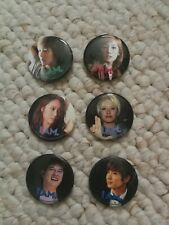 I Am - SMTOWN Badge Pin Button Set 6 Pieces Taeyeon SNSD SHINee Super Junior