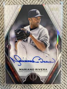 🌟 MARIANO RIVERA - 2021 Topps Tribute On Card Auto #TA-MR /32 - HOF Yankees