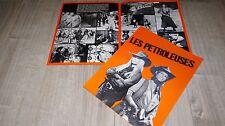 brigitte bardot LES PETROLEUSES dossier scenario presse cinema 1971