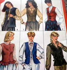 *Lovely Vtg 1970s Vest Sewing Pattern 10/32.5