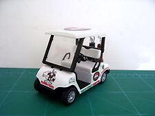 DIECAST GOLF CART BUGGY- Souths  Clubs,Driver,Iron,Putter,Bag, Ball,Trolley