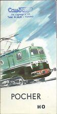 Catalogo Pocher & Muratore s.n.c. Torino 1964 Depliant - Treni Elettrici