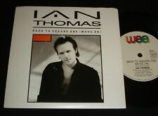 IAN THOMAS AUSSIE P/S MINT 45 - BACK TO SQUARE ONE 1980s Canadian rock