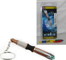 DOCTOR Dr WHO Keychain LED SCREWDRIVER SONIC 11. doctor 11th doctor KEYRING