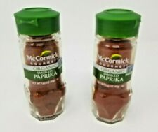 McCormick Organic Smoked Paprika 1.62oz 2pack Dated February 2021 (E01)