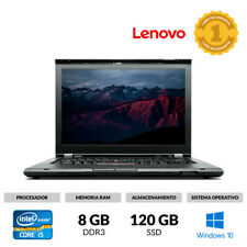 "PORTÁTIL 14"" LENOVO T430S I5-3320M 2.60 GHZ 8 GB RAM 120 GB SSD WINDOWS 10 DVD"