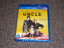 THE MAN FROM U.N.C.L.E. ( UNCLE ) : NEW & SEALED BLU RAY + UV CODE (FREE UK P&P)