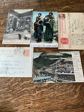 5 Postcards From Olive Peabody Early 1900's