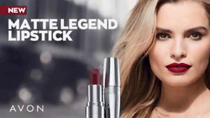 AVON MATTE & CREME LEGEND Lipstick 💄FULL SIZE- CHOOSE SHADE - Factory SEALED💄