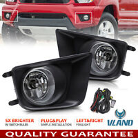 For 2012-2015 Toyota Tacoma Front Bumper Driving Lamp Fog Lights w/ Switch Bulbs