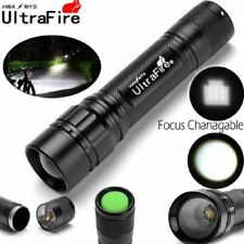 Ultrafire 20000LM XM-L T6 Zoomable Tactical 3 Mode 18650 Flashlight Torch Lamp