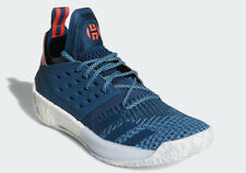 super popular 7a241 35dcc Adidas James Harden Vol 2 Primeknit BLUE NIGHT CYAN RED WHITE AH2216 Boost  Men s