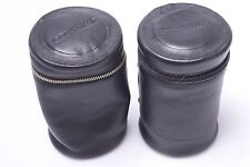 ORIGINAL BENSER LEATHER CASE, POUCH FOR NIKON, CANON, LEICA, LEICAFLEX LENSES