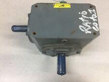 NEW NO BOX BOSTON GEAR 60-1RATIO .830HP ANGLED GEAR REDUCER 726-60-J 17