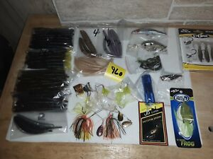 Lot Of 83 Pc.Bass Fishing lure Assortment  ( Lot#959 )