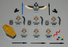 Lego Minifigures Lot 7 Monsters Swords Castle Knight Bad Guys Toys Minifig Mummy