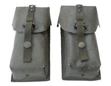 österr. Bundesheer M75 Magazintaschen (1x links und 1x rechts) f. BH StG77 gebr.