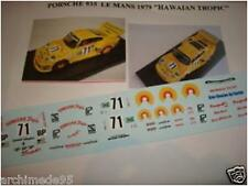 "PORSCHE 935 LE MANS 1979 ""HAWAIAN TROPIC N.  DECAL 1/43"