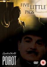 Agatha Christie's Poirot Five 5 Little Pigs DVD David Suchet Sealed UK Release