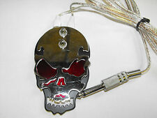PROFESSIONAL heavy duty skull Tattoo Foot Switch in red,black,yellow or blue