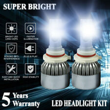 9005 HB3 H10 1800W 270000LM LED Headlight Bulbs Kit Hi Lo Beam 6000K Fog Lamp US
