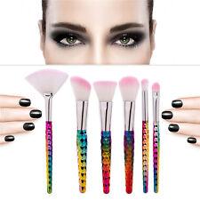 6Pcs Zakeup Brush Set Cosmetic Powder Foundation Blending Brushes Beauty Tools Z