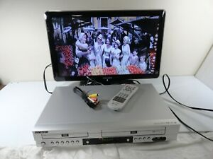 Go Video DVD VCR Combo DV1140 VHS Player Stereo 4 Head HiFi With Remote & Cable
