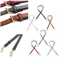 Adjustable DIY Solid Replacement Leather Bag Shoulder Strap Handle Crossbody Bag