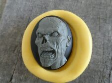 Gothic Zombie Cameo  Silicone push mold polymer clay resin SUGAR CRAFT
