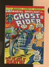 Marvel Spotlight 10 FN 5.5 * 1 Book * Ghost Rider! Gary Friedrich & Tom Sutton!