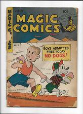 Magic Comics #72 [1945 Fr] Ice Cream Cover!