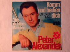 """PETER ALEXANDER Komm und bedien 7"""" GERMANY DINO"""