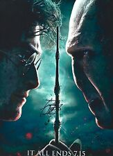 Daniel Radcliffe signed Harry Potter Deathly Hallows 8x10 photo - Exact Proof