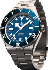 RARE NTH Nacken  Modern Blue  Automatic Diver Watch