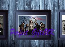 Suicide Silence Mitch Lucker Signed Framed & Mounted 10x8 Repro Photo Print