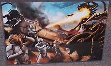 Star Wars Stormtroopers vs Aliens Glossy Print 11 x 17 In Hard Plastic Sleeve