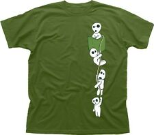 MONONOKE FOREST SPIRIT KODAMA MANGA ANIME MIYAZAKI cotton t-shirt TC9602