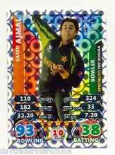 2015 Topps Cricket World Cup Specialist Bowler # 179 Saeed Ajmal - Pakistan