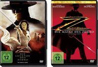 2 DVDs *  DIE LEGENDE DES ZORRO & DIE MASKE DES ZORRO IM SET # NEU OVP