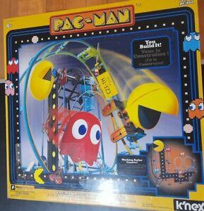 New K'nex KNEX Pac-man Roller Coaster Building Set Motor Included Pacman Sealed.