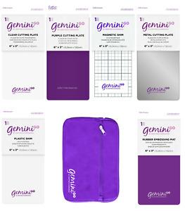 Crafters Companion Gemini GO Machine - CUTTING PLATES MATS & SHIMS - FREE UK P&P