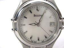 BULOVA ACCUTRON SWISS MADE 63M16 LADIES DRESS WATCH STAINLESS STEEL