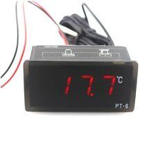 PT-6 -40~110C Digital Thermometer Temp Meter ACDC 12V 2m NTC Sensor LED Aquarium